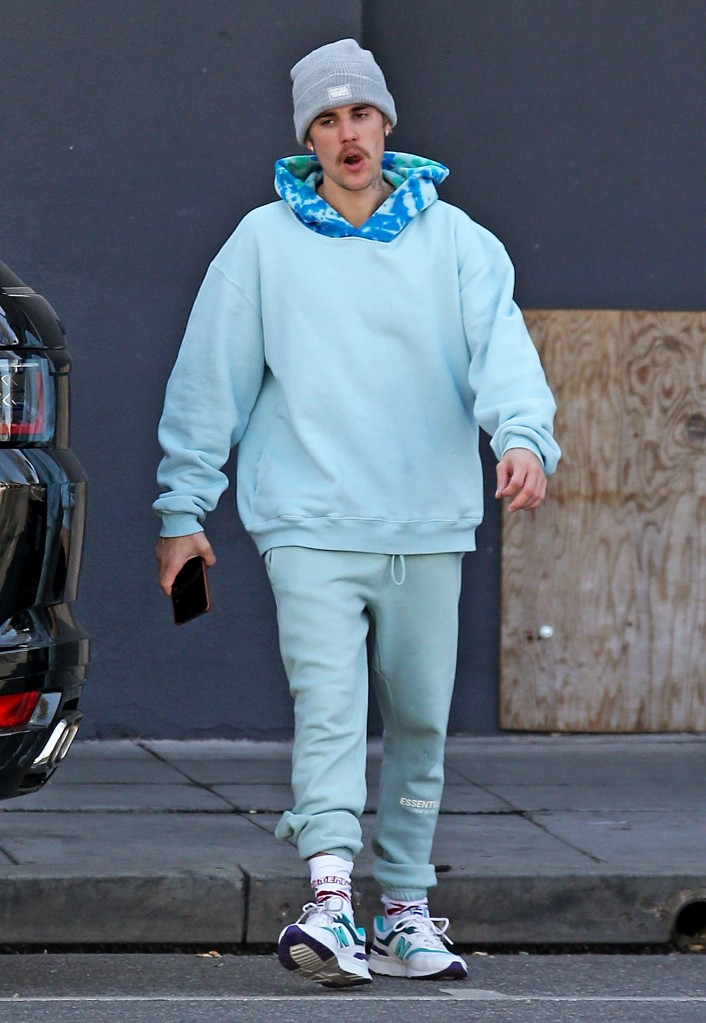 Justin BieberJustin Bieber out and about, Los Angeles, USA - 05 Feb 2020Stoped at a spa after dance studio