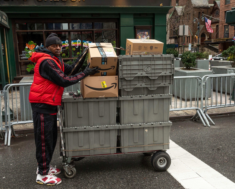 Amazon delivery coronavirus