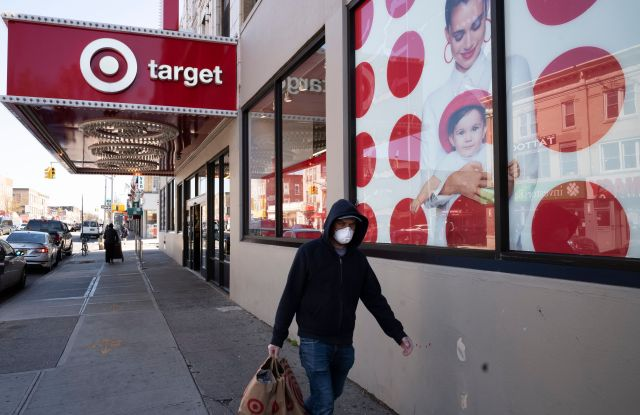 target shopper face mask