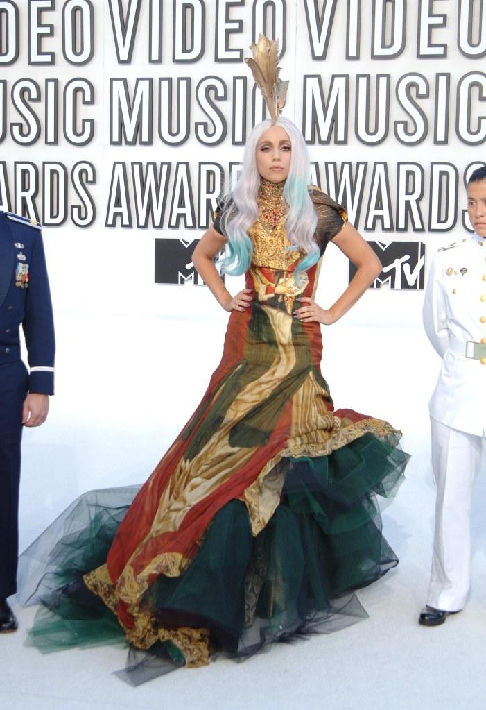 Lady Gaga2010 MTV Video Music Awards, Los Angeles, America - 12 Sep 2010