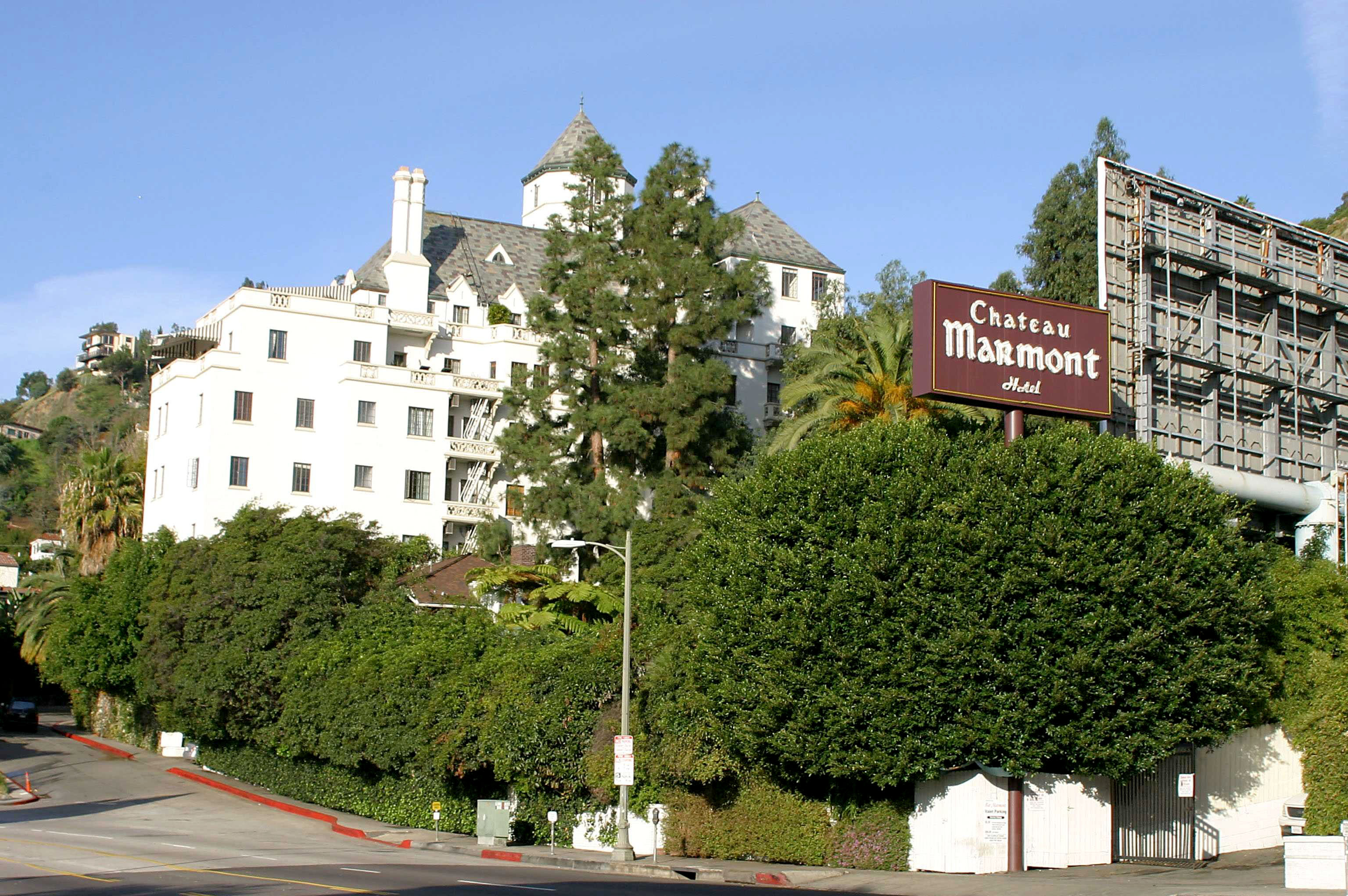 The Chateau Marmont Hotel
