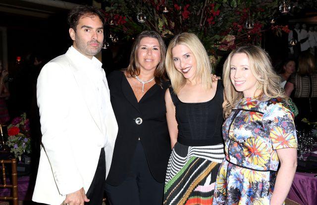 Whitney Robinson, Stellene Volandes, Mara Gredick, Danielle SteinTown & Country Anniversary Dinner, The Carlyle Hotel, New York, USA - 12 Sep 2016