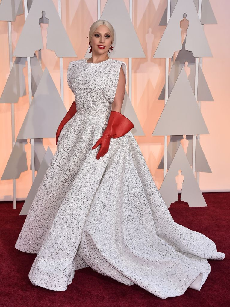 Lady Gaga arrives at the Oscars, at the Dolby Theatre in Los AngelesAPTOPIX 87th Academy Awards - Arrivals, Los Angeles, USA