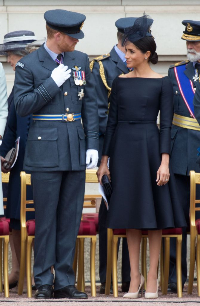 Meghan Duchess of Sussex and Prince Harry100th Anniversary of the Royal Air Force, London, UK - 10 Jul 2018