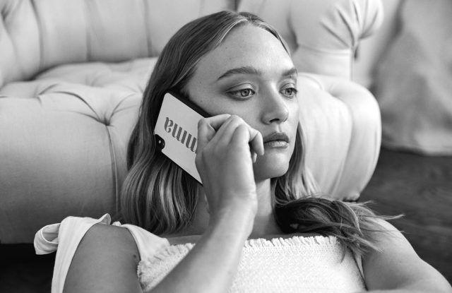 Gemma Ward in a December 2019 campaign image for Australian personalised accessories brand The Daily Edited, which is among a collective of brands taking part in the #WeWearAustralian industry solidarity initiative launched on April 9.