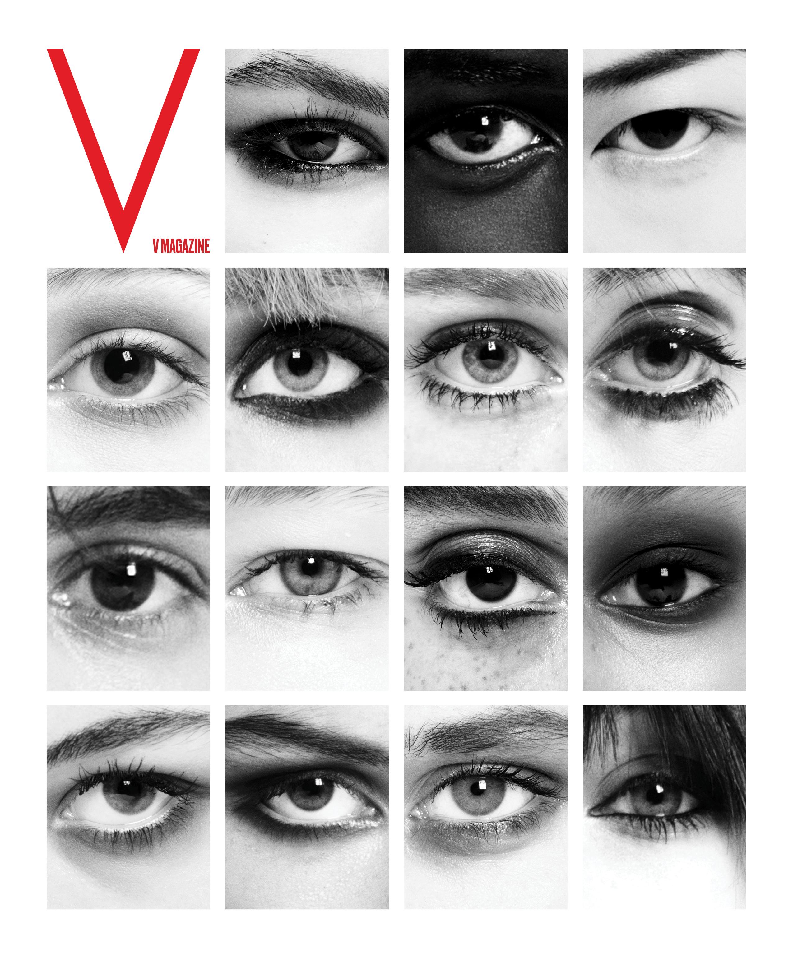 V Magazine teaser.