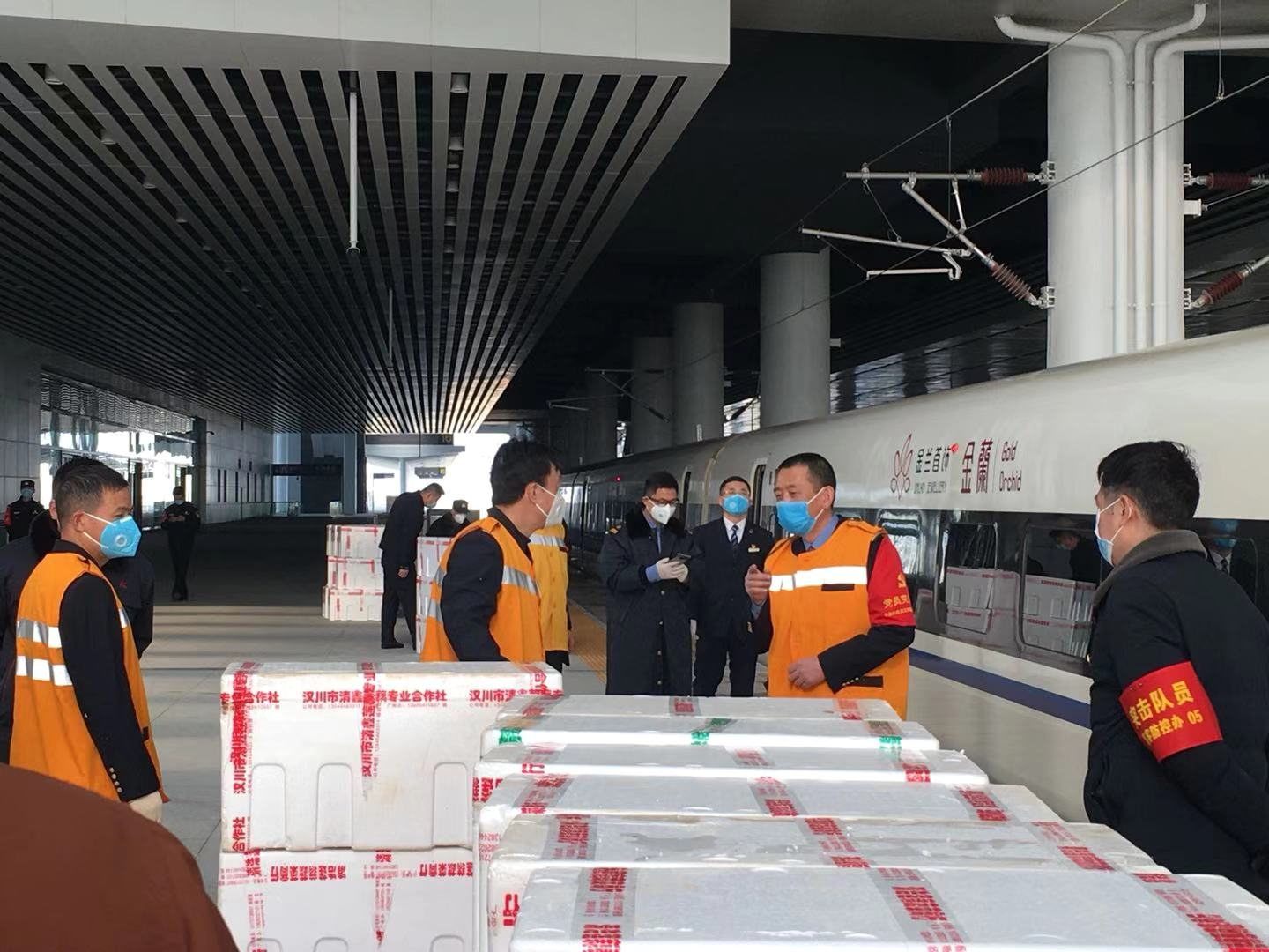 Jiaye Wu's father, who holds a senior position in the rail system, was working at the frontline during the coronavirus outbreak in Wuhan, China.