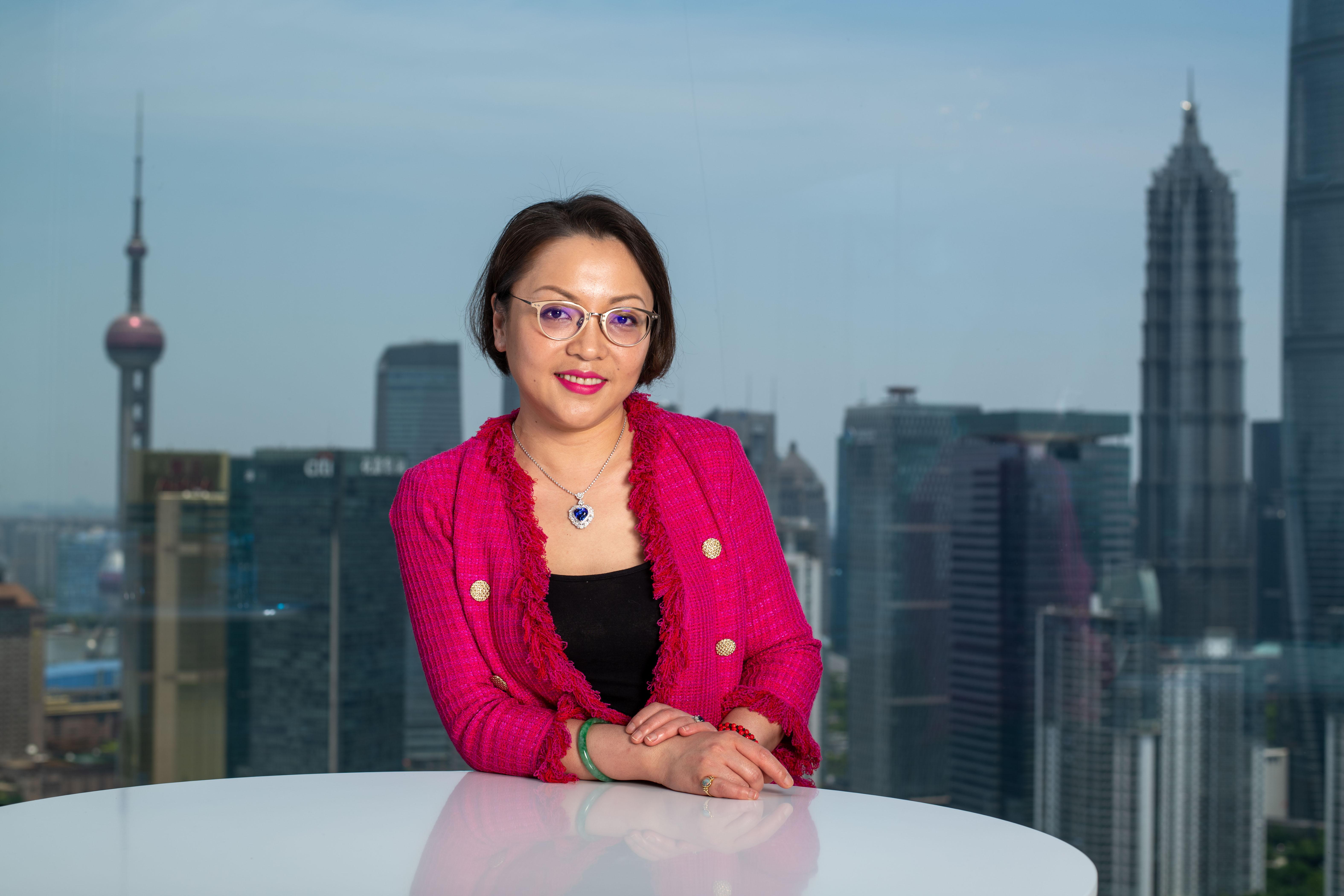Joann Cheng, chairwoman of Fosun Fashion Group.