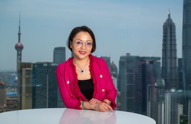 Joann Cheng, chairwoman of Fosun Fashion Group.