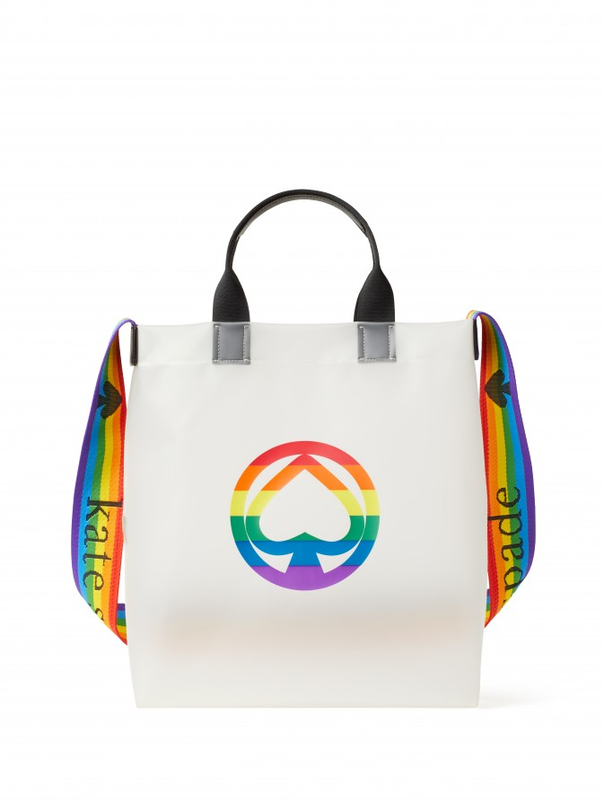 A tote from Kate Spade New York's Pride capsule.