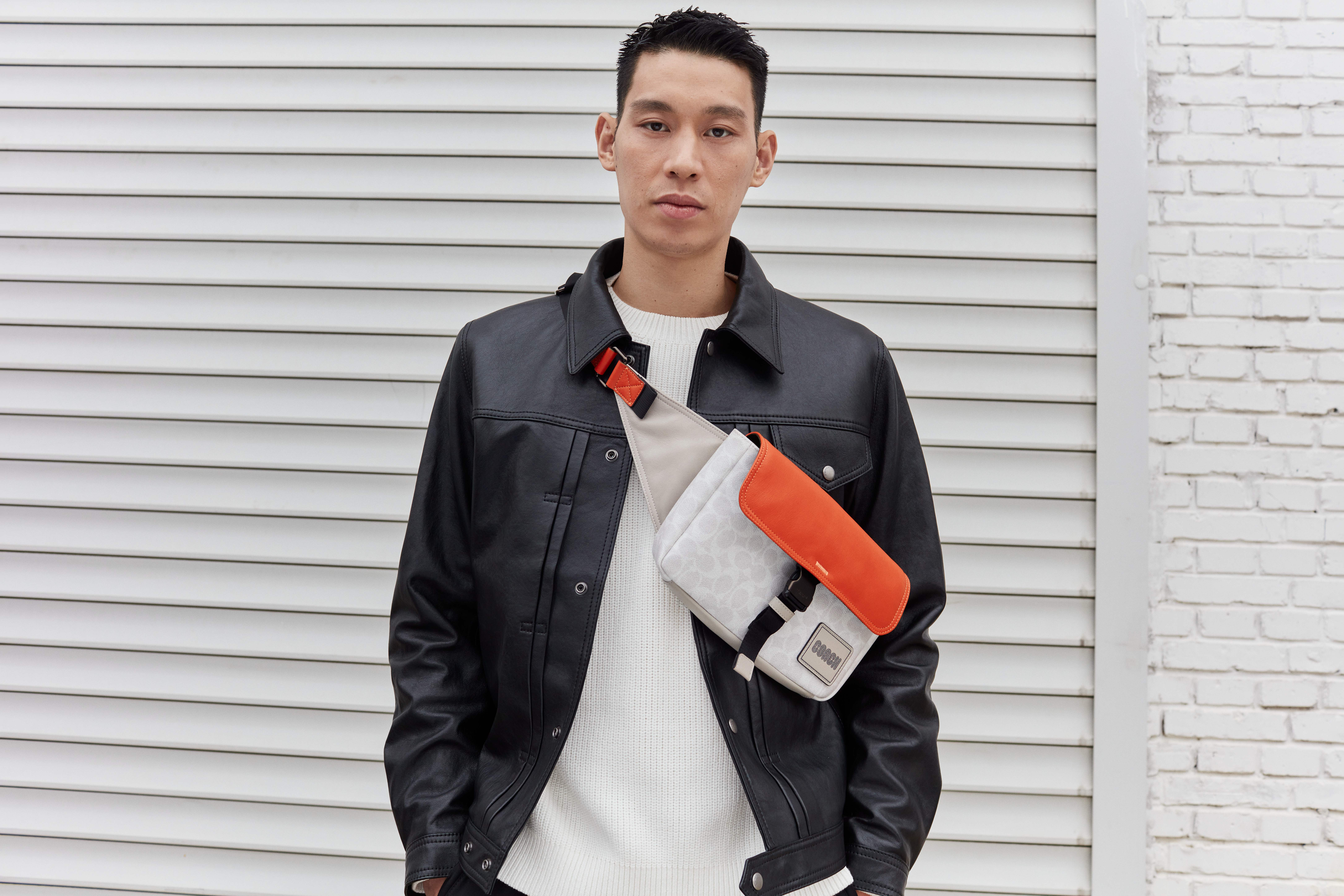Jeremy Lin is the new face of Coach's men's business.
