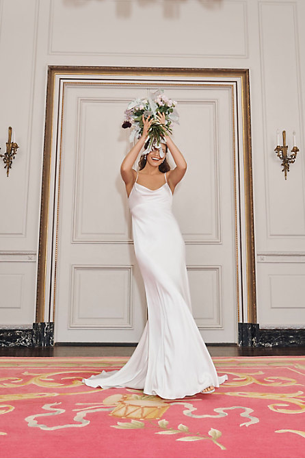 A fall 2020 bridal gown from BHLDN.