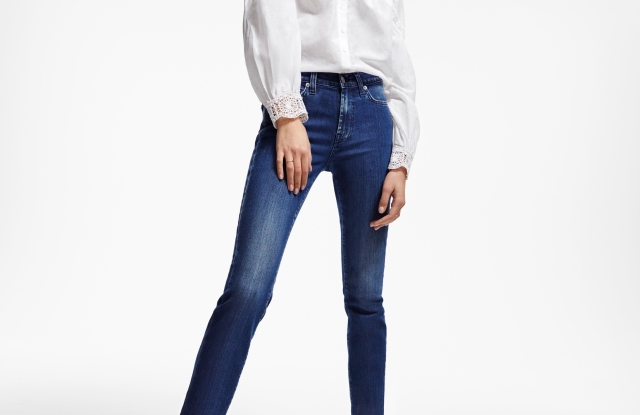 Seven For All Mankind sets goals for sustainability.