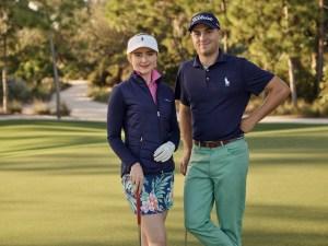 Kathryn Newton and Justin Thomas.