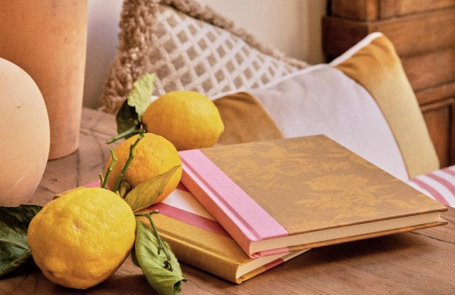 Notebooks from Sézane's new lifestyle range.