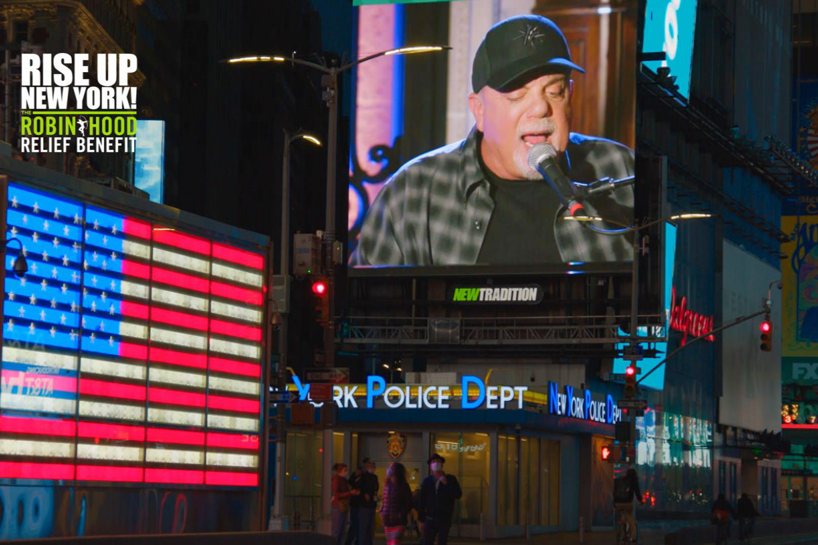 Billy Joel in Times Square