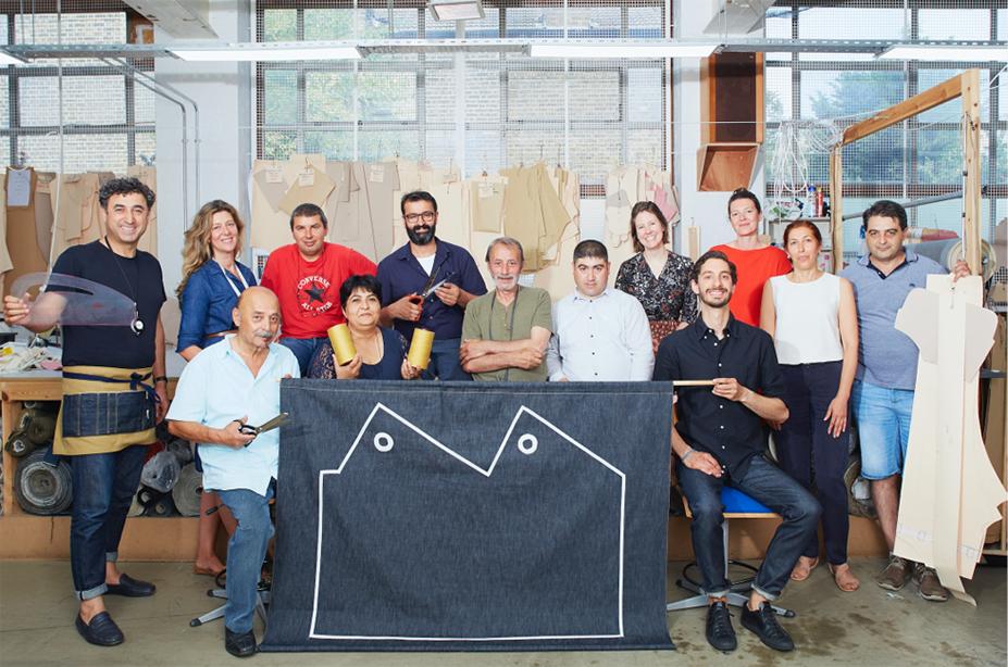 Manufacturer of crafted denim team at Blackhorse Lane Ateliers