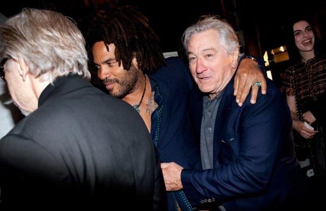 Lenny Kravitz, Robert De Niro
