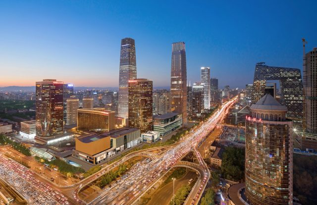 China World Hotel sits in the heart of Beijing's CBD.