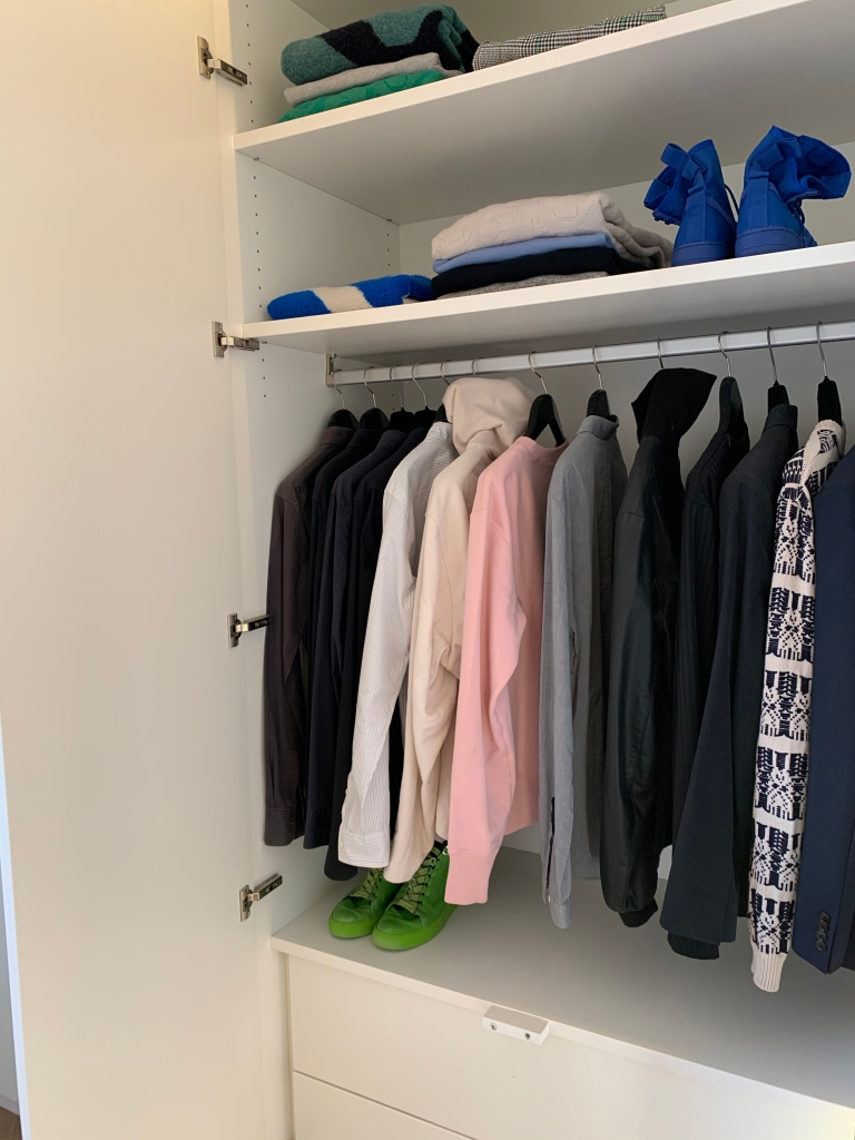 Christian Wijnants' closet.