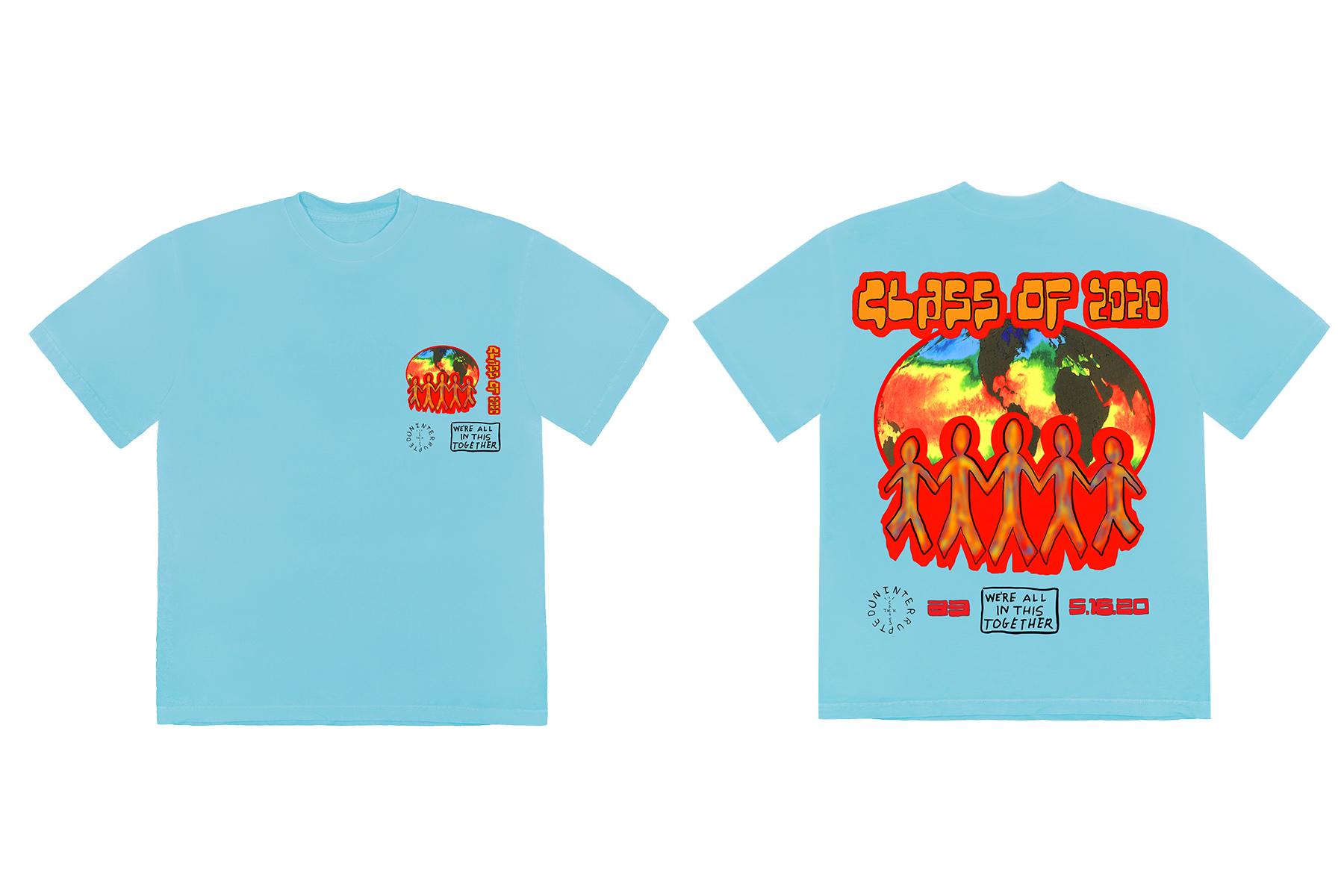 The Uninterrupted and Cactus Jack 2020 Graduation T-Shirt