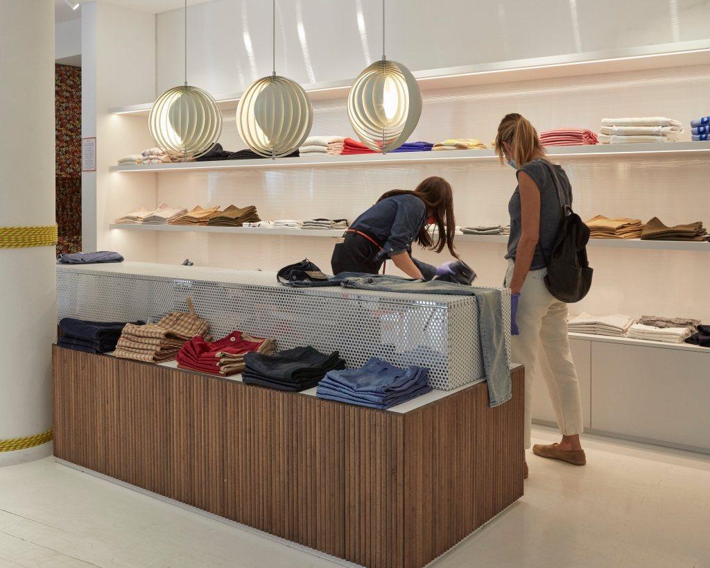 Inside Milaura luxury multibrand store in Milan