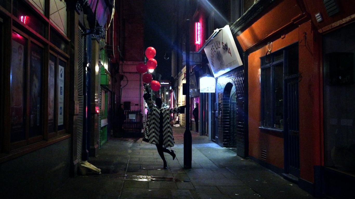 A still from Gareth Pugh SS16 film by Ruth Hogben