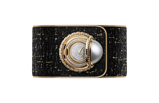 Chanel's Mademoiselle Privé Bouton watch
