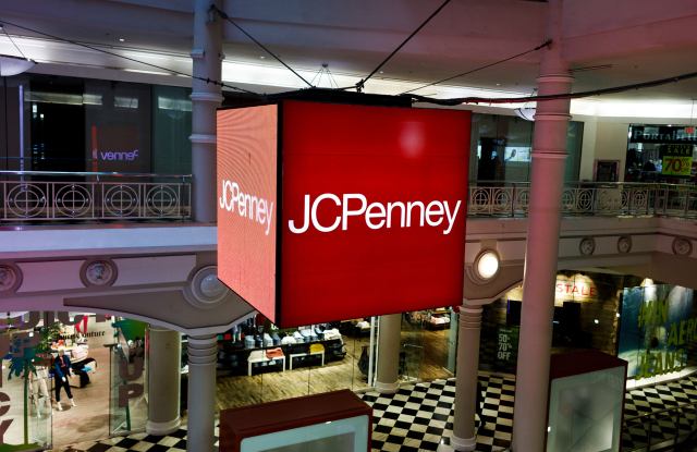 A J.C. Penney mall store.