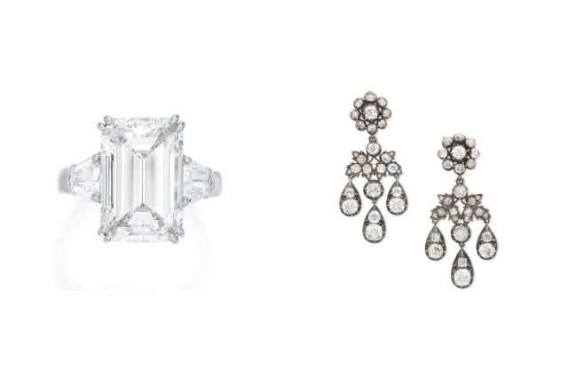 Jewelry auctioned by Sotheby's that has exceeded sales expectation during lockdown.
