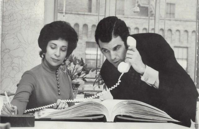 Joan Simpson Raines and Richard Raines.