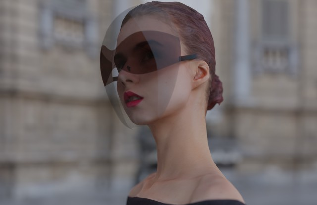 Joe Doucet's Face Shield aims to make safety a stylish affair.