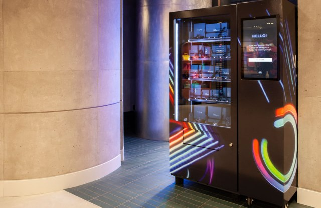 Mulberry uses smart vending machines