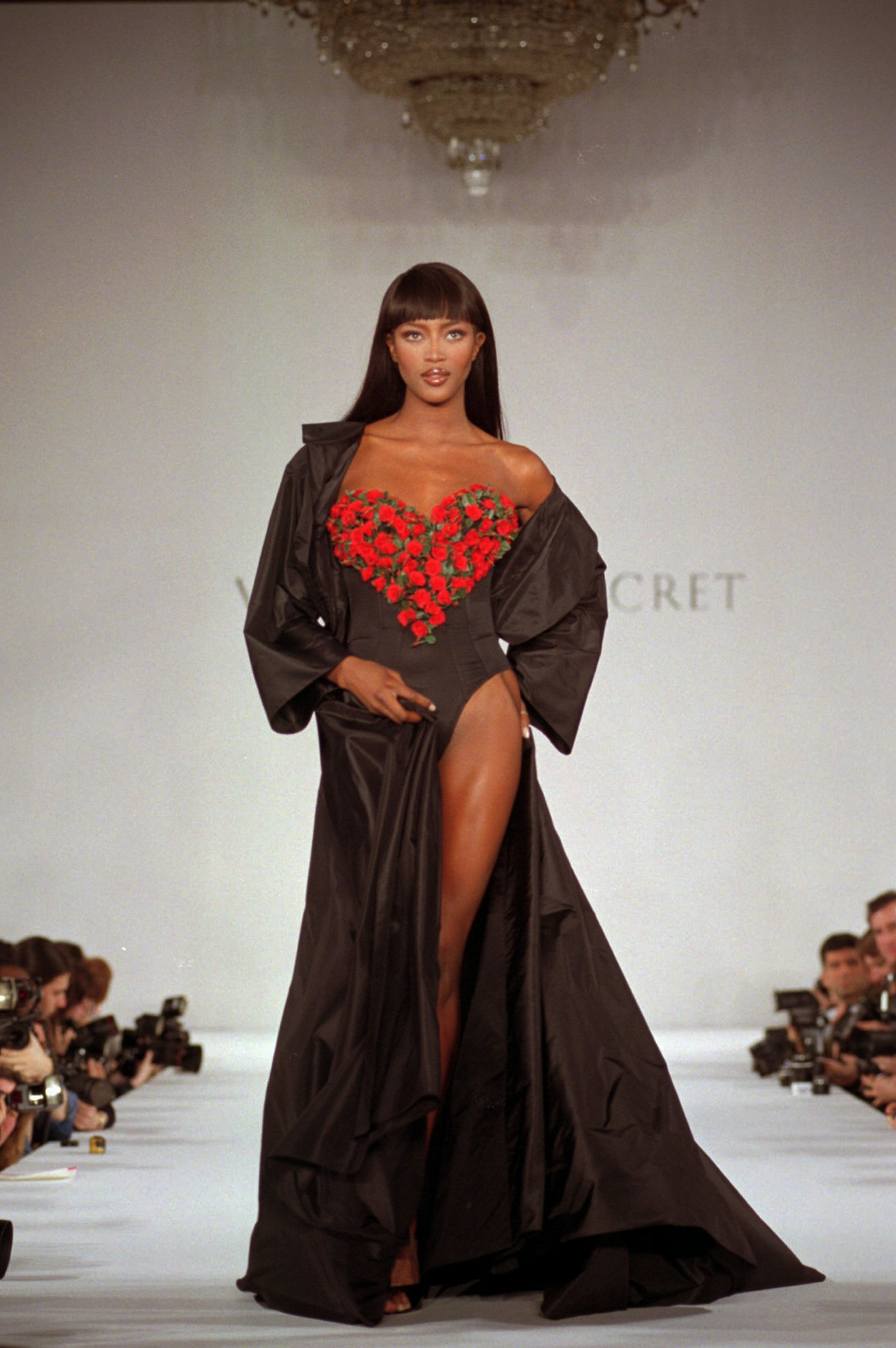 Naomi Campbell's Most Iconic Runway Moments