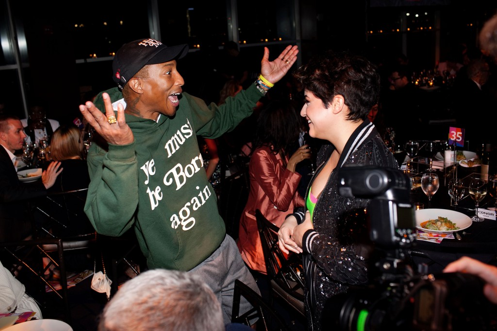 Pharrell Williams, Linda Briceno