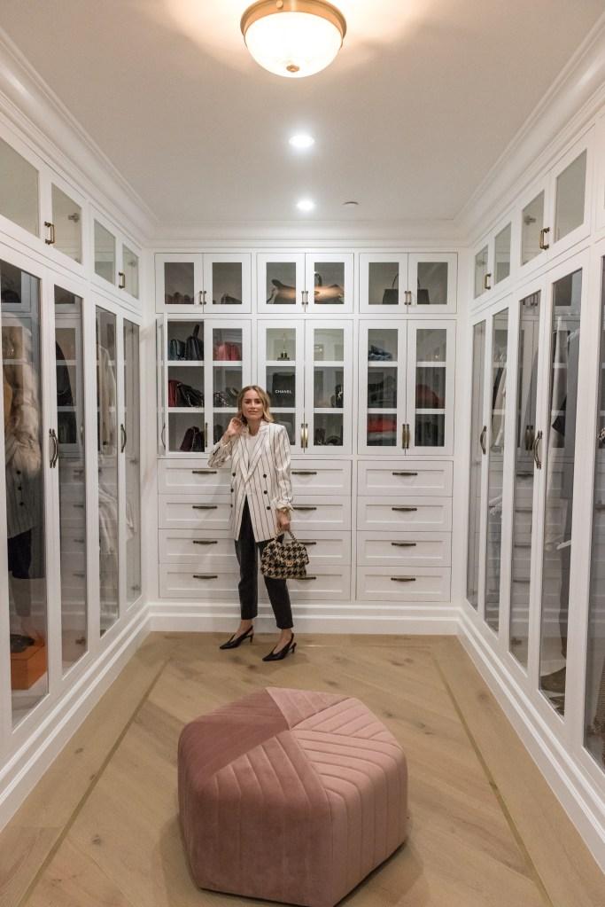 Anine Bing's closet.