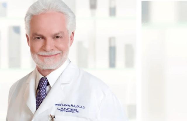 Dermatologist Dr. Harold Lancer.