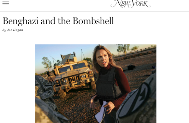 Lara Logan sues New York Magazine