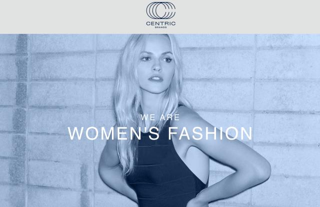 centric brands web site
