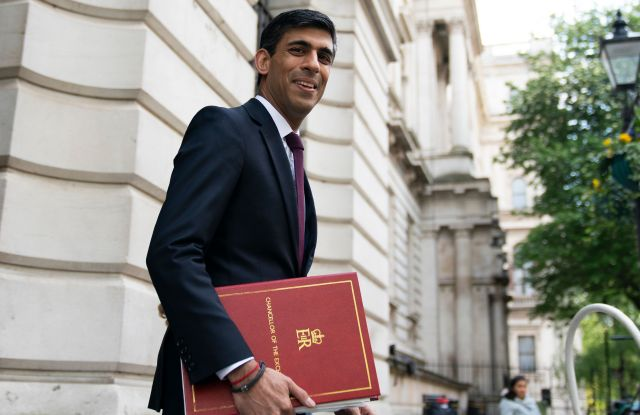 Chancellor of the Exchequer Rishi Sunak in Downing Street, Central London, Britain, 04 May 2020. The United Kingdom's 66 million inhabitants are living through their seventh consecutive week of nationwide lockdown prompted by the ongoing pandemic of the COVID-19 disease caused by the SARS-CoV-2 coronavirus.Coronavirus in Britain, London, United Kingdom - 04 May 2020