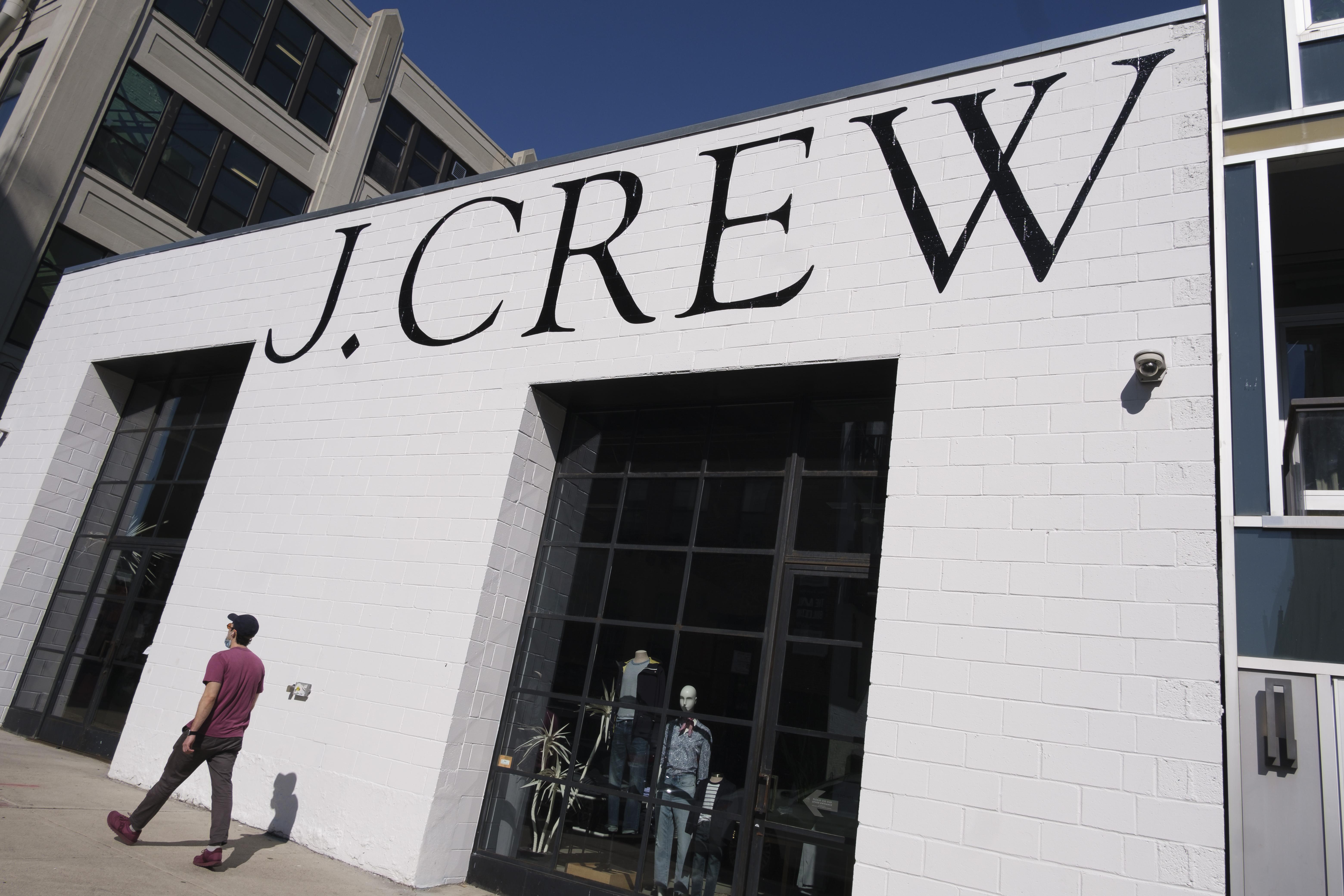 closed J. Crew store