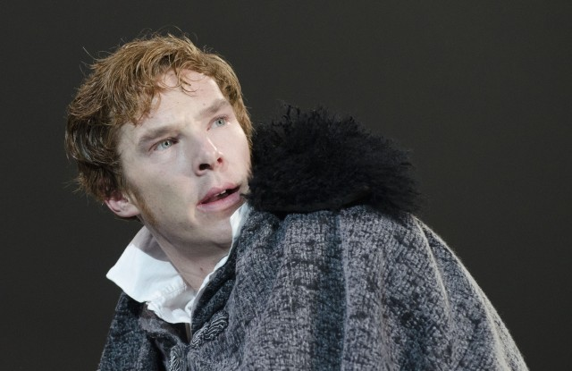 Editorial use onlyMandatory Credit: Photo by Donald Cooper/Shutterstock (1288978g)Benedict Cumberbatch (Victor Frankenstein)'Frankenstein' play at The Royal National Theatre, London, Britain - 15 Feb 2011The National Theatre production of Frankenstein, directed by Oscar-winner Danny Boyle (127 Hours, Slumdog Millionaire), will be presented in movie theatres around the world on March 24. Benedict Cumberbatch and Jonny Lee Miller alternate the roles of Victor Frankenstein and the Creature.