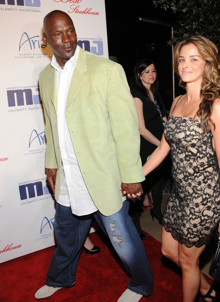 Michael Jordan and Yvette Pietro10th Annual Michael Jordan Celebrity Invitational Golf Tournament reception, Beso Steakhouse at CityCenter, Las Vegas, America - 31 Mar 2011