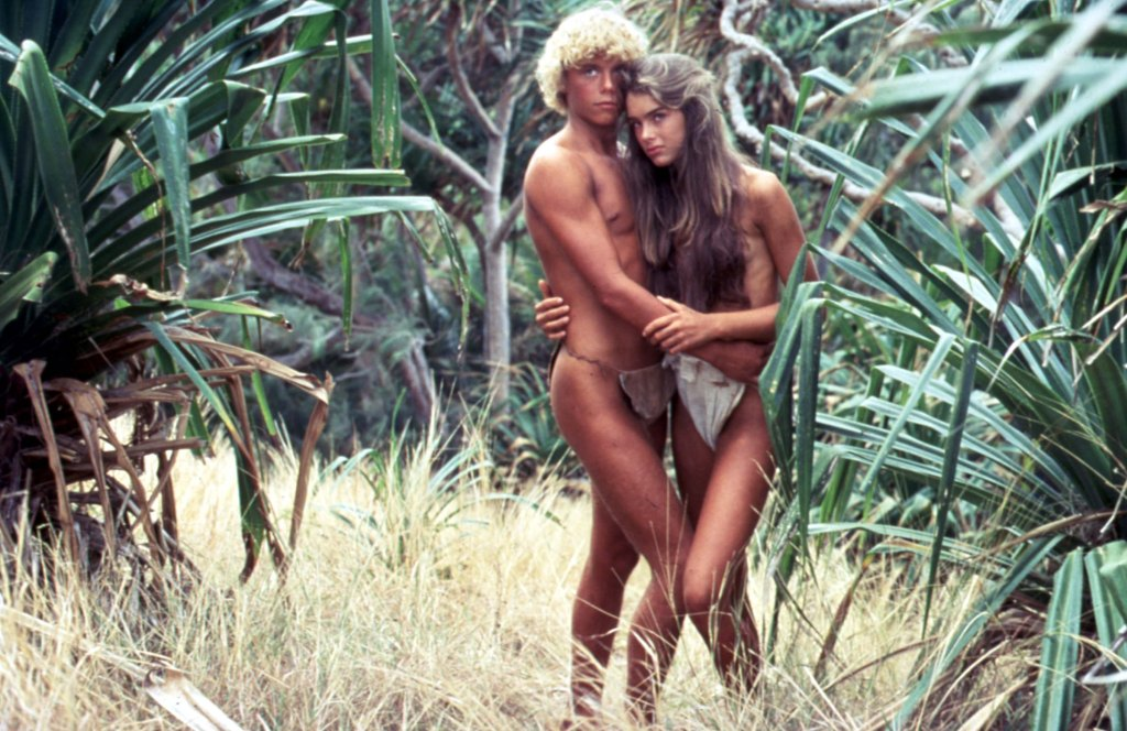 Editorial use only. No book cover usage.Mandatory Credit: Photo by Moviestore/Shutterstock (1651051a)The Blue Lagoon, Christopher Atkins, Brooke ShieldsFilm and Television