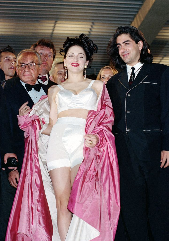 """Madonna Keshishian American singer-actress Madonna leaves the screening of her movie """"In Bed with Madonna,"""" known as """"Truth or Dare"""" in the United States, with director Alek Keshishian, right, at the 44th Cannes Film Festival in France, . The documentary, filmed by the 26-year-old Harvard graduate, chronicles Madonna's 1990 """"Blond Ambition"""" tourCANNES FILM FESTIVAL MADONNA, CANNES, France"""