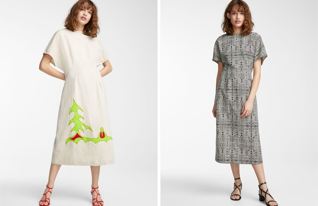 Looks from Tracy Toulouse and Caroline Monnet