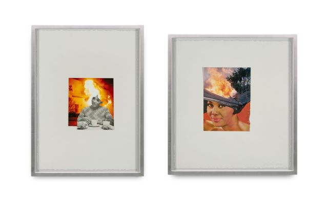 "Lorna Simpson's ""Flames"""
