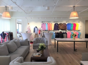 U.S. Polo Assn's global creative center's open space showroom in West Palm Beach, Fla.