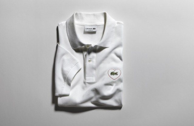Lacoste's Merci Polo launches today.