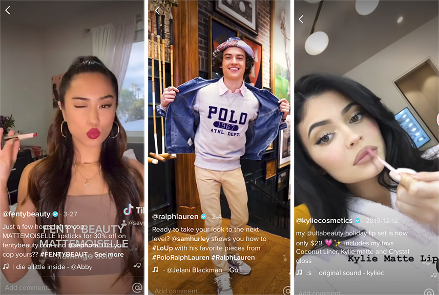 Most Followed Fashion and Beauty Brands on TikTok